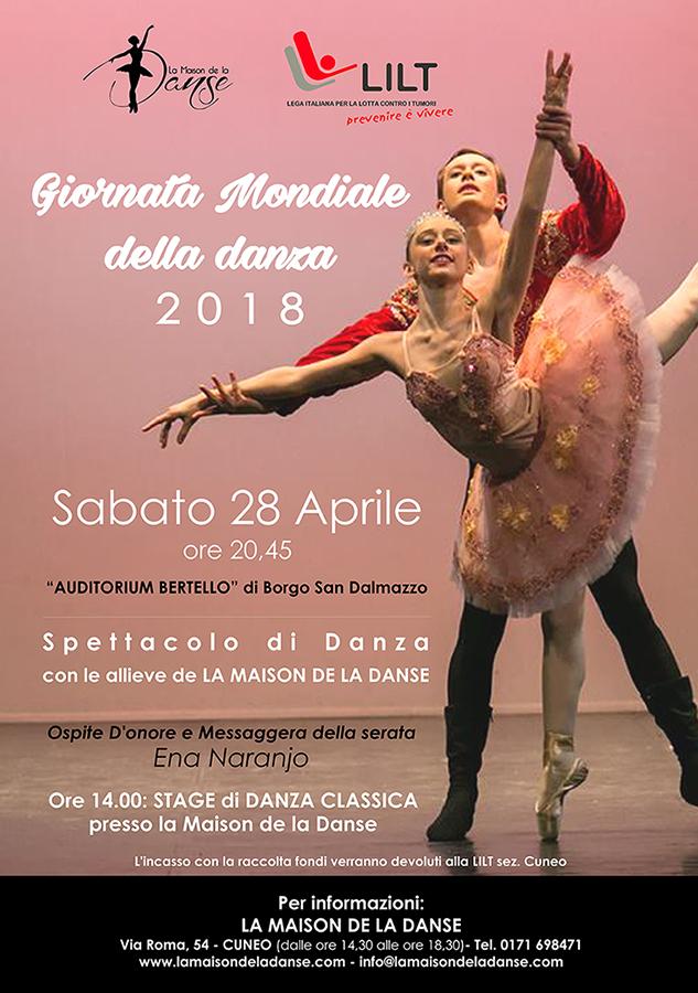 Giornata Mondiale della Danza 2018